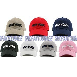 Newhattan NY21 New York 3D Unisex Baseball Hat Cap